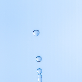Water Drop by Xióng Xióng - Abstract Water Drops & Splashes ( water, life, waterdrop, singledrop )
