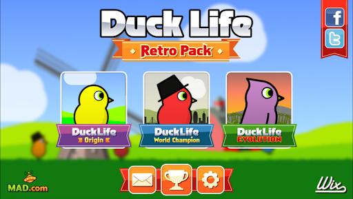 Duck Life: Retro Pack - screenshot