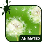 Dandelion Animated Keyboard APK Image