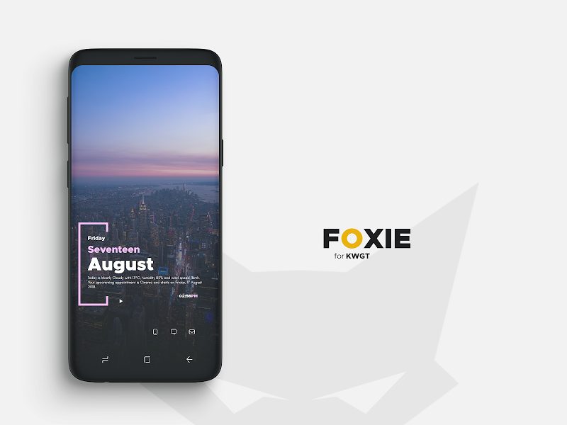 Foxie for KWGT Screenshot 3