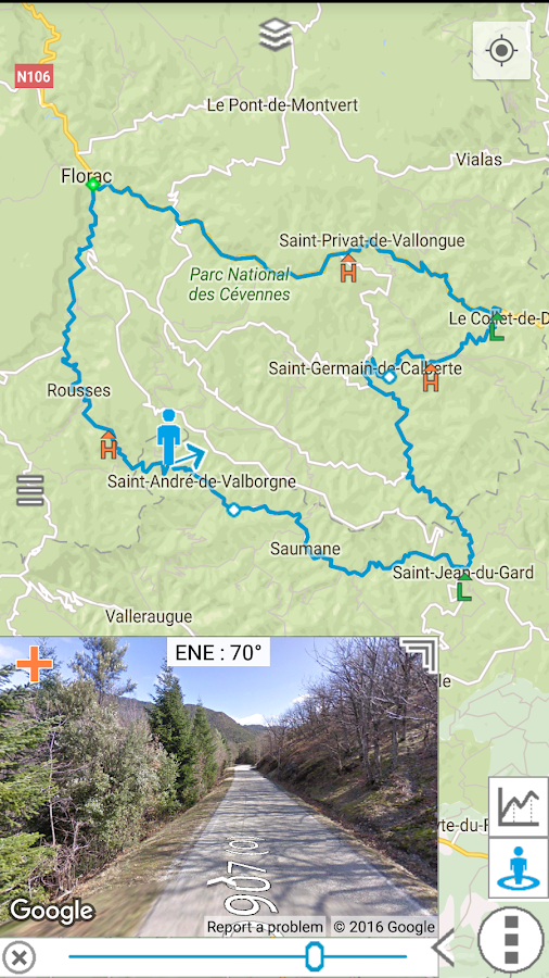 myRouteMap Screenshot 2