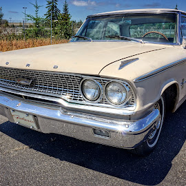 Ford Galaxie  by Todd Reynolds - Transportation Automobiles