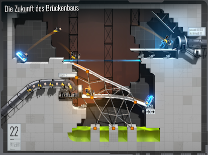 Bridge Constructor Portal Screenshot