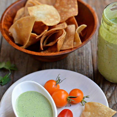 Creamy Tomatillo Ranch Dressing