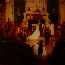 The Wedding Photographer by Paul S. DeGarmo - Wedding Other ( flash, wedding, photographer, photo, taking )