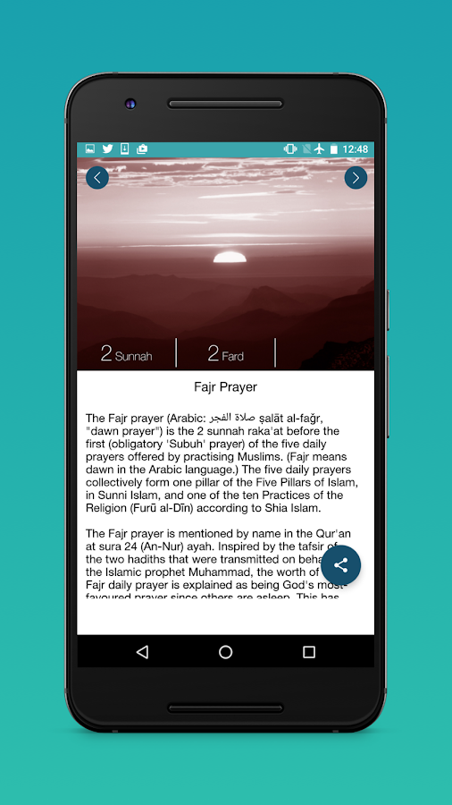 Salah Learning : Muslim Prayer Screenshot 2