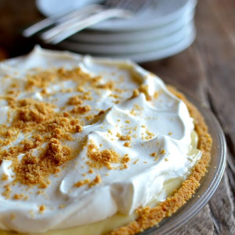 Bourbon Banana Cream Pie