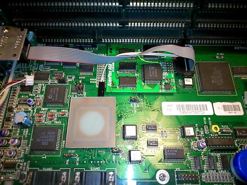 ScanPlus AGA in A4000D
