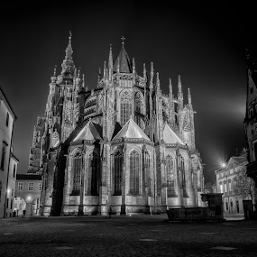 St. Vitus Cathedral - Prague  by Robert Grim - City,  Street & Park  Historic Districts ( old city, czech republic, cathedral, foto, prague )