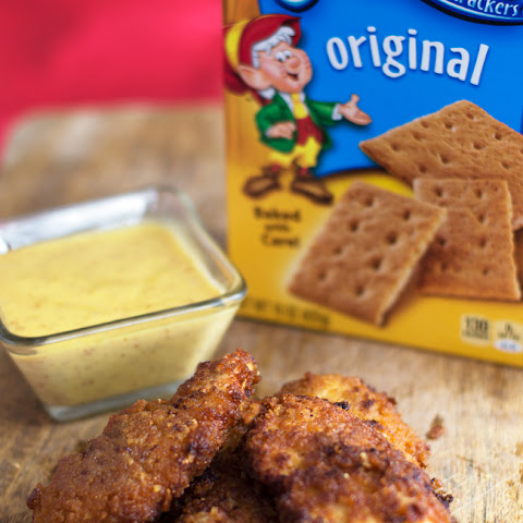 Honey Graham Cracker Coated Chicken Fingers