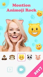 Animoji for phone X +Live Emoji Face Swap Emoticon Screenshot