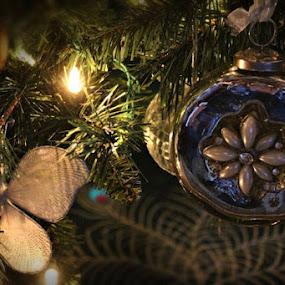 by Lena Arkell - Public Holidays Christmas ( butterfly, decoration, christmas lights, christmas, christmas tree, , Christmas, card, Santa, Santa Claus, holiday, holidays, season, Advent )