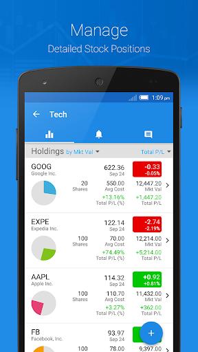 Ticker: Stocks Portfolio Mgr - screenshot