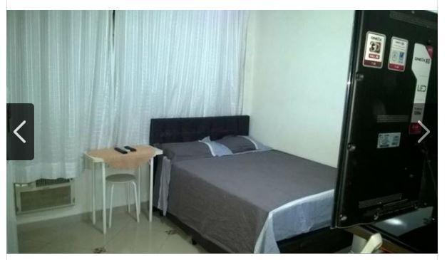 Kitnet com 1 dormitório à venda, 30 m² por R$ 164.000 - José Menino - Santos/SP