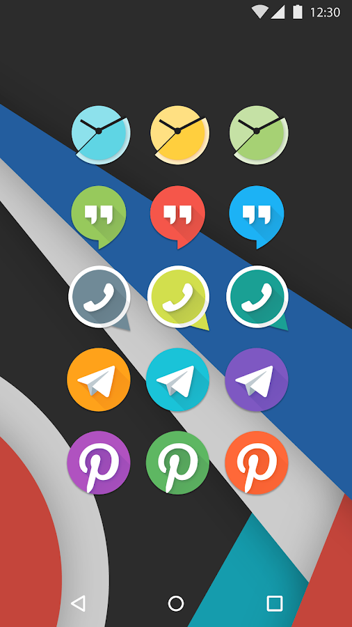 Mate UI - Material Icon Pack Screenshot 4