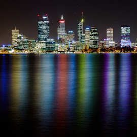 by Shayne Sim - City,  Street & Park  Night ( night photography, perth by night, 80d, cityscape, first batch, nightscape )