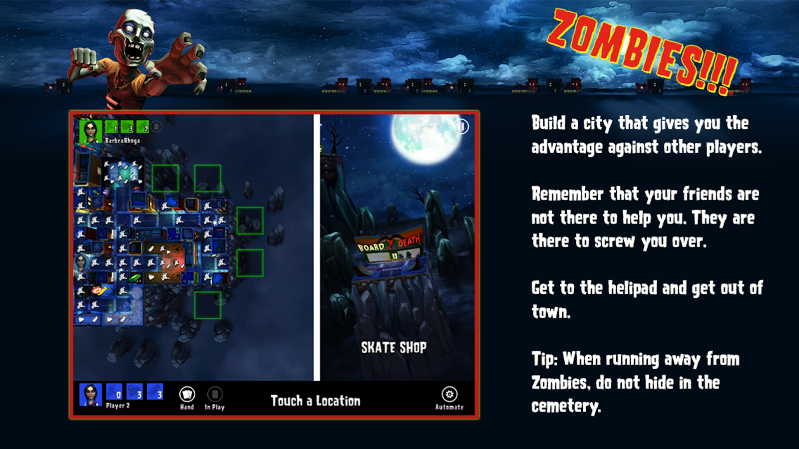 Zombies!!! ® Board Game Screenshot 1