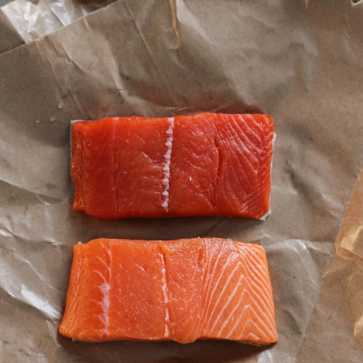 Salmon with Lemon-Dill Creme Fraiche Recipe | Yummly
