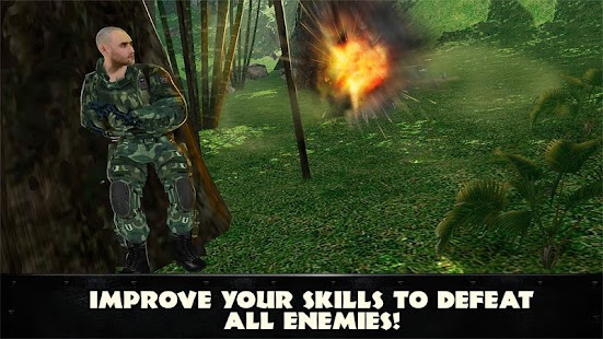Jungle Commando 3D: Shooter- screenshot thumbnail