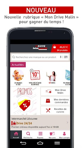 Drive Intermarché - Courses Android App Screenshot