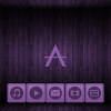 Wooden Icons Violet XZ Theme