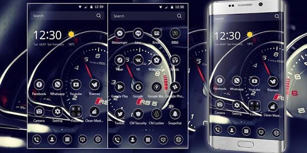 APK App Theme Car Speedometer speed for BB, BlackBerry