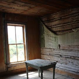 by Liz Huddleston - Buildings & Architecture Decaying & Abandoned