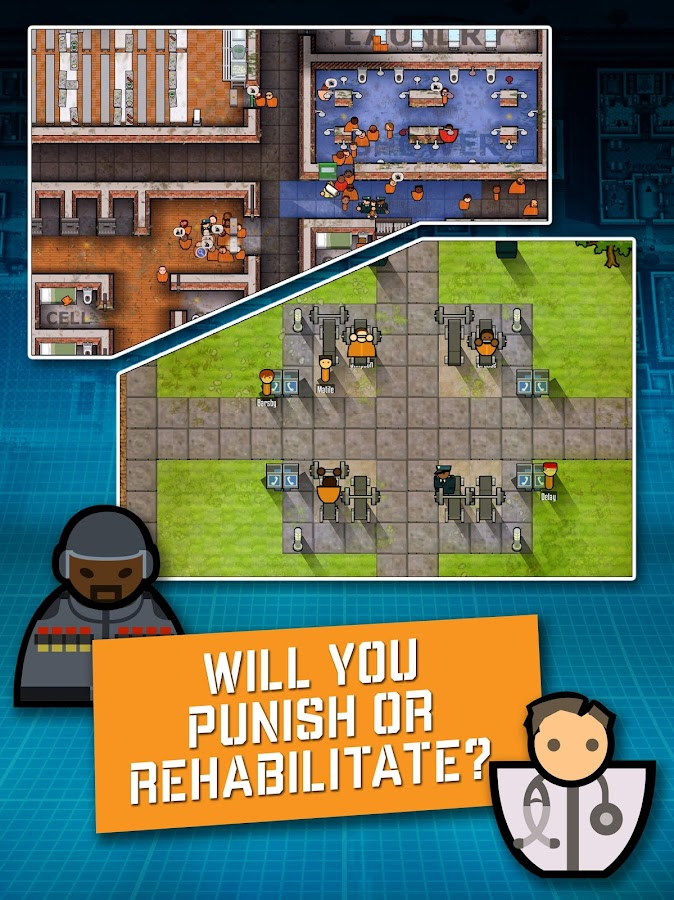 Prison Architect: Mobile Screenshot 3