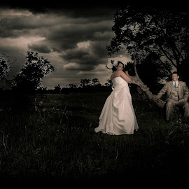 Stormy Wedding Day by Awie Greyling - Wedding Bride & Groom ( 228photography, wedding, south africa, photographer, photography )
