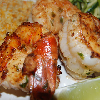 Ginger-Mint Grilled Shrimp