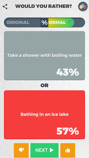Would you rather? — Impossible choices