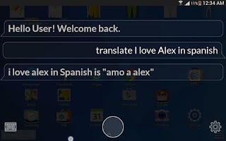 Screenshot of Alex (Siri for Android) Free