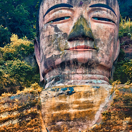 Budda of Leshan by Stanley P. - Buildings & Architecture Statues & Monuments ( statues, leshan, budda )