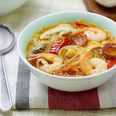 Spanish Prawn Noodle Soup