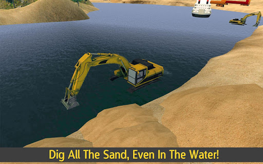 Hill Climb Excavator & Truck - screenshot