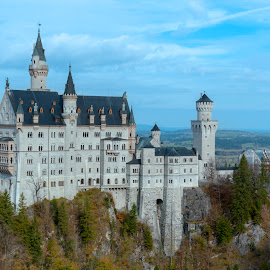 Neuschwanstein Castle by Keith Reling - Buildings & Architecture Public & Historical ( neuschwanstein castle 1, germany )