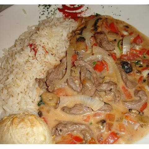 Brazilian Chicken and Mushrooms