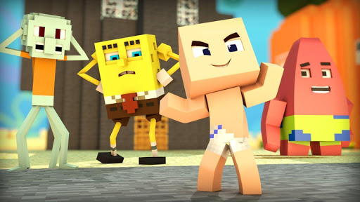 Addon for MCPE 0.16+ SpongeBob For PC