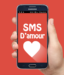SMS d'amour - screenshot