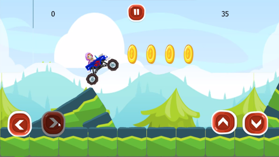 Offroad Truck Rally Hill Climb - screenshot