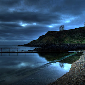 Dawn  by Bonita Le Noury - Novices Only Landscapes ( reflection, dawn, ocean, beach )