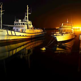 silence by Fresco Jr Linga - Transportation Boats