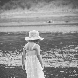 the River by Jenny Hammer - Babies & Children Children Candids ( girl, baby, toddler, cute, river )