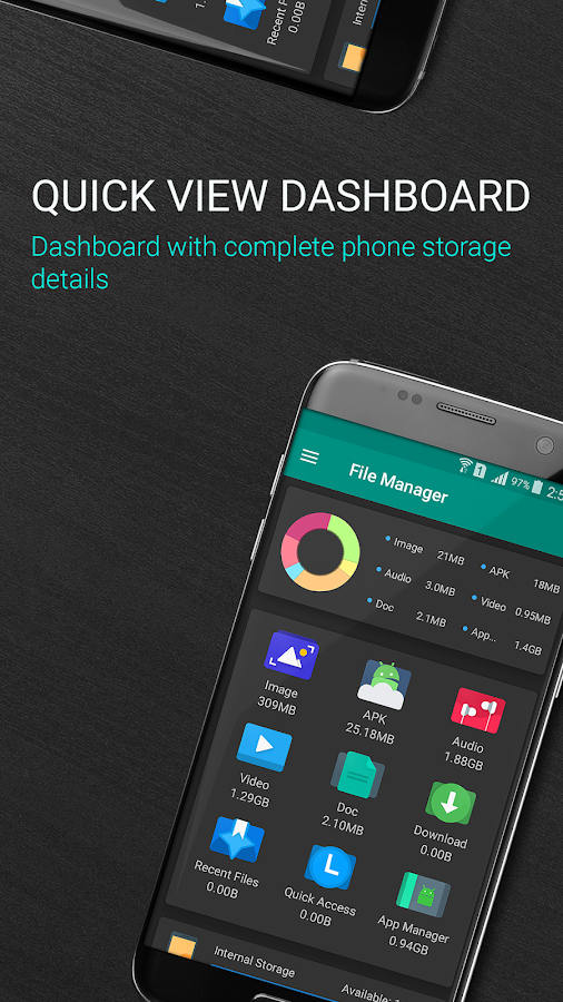 File Manager - Local and Cloud File Explorer Screenshot 1