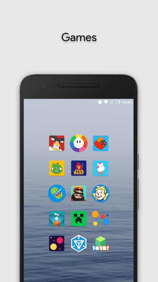 Zephyr - Icon Pack Screenshot 1