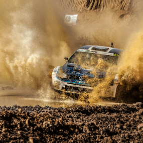 Splash04 by Johan Niemand - Sports & Fitness Motorsports ( water, car, rally, splash, drive, race )