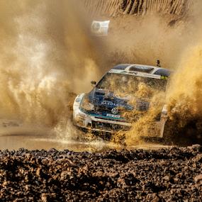 Splash04 by Johan Niemand - Sports & Fitness Motorsports ( water, car, rally, splash, drive, race )