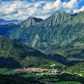 Kobarid by Bojan Kolman - Landscapes Mountains & Hills