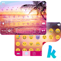 Sunset Beach Kika Keyboard 24.0 icon