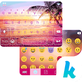Sunset Beach Kika Keyboard Icon